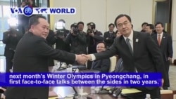 VOA60 World PM - North, South Korea Agree to Hold Talks to Improve Relations