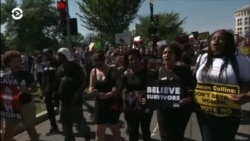 В Вашингтоне прошел протест против назначения Бретта Кавано на пост судьи Верховного суда США