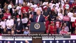 """Donald Trump apoya a Venezuela, Cuba y Nicaragua: """"Estados Unidos jamás será un país socialista"""""""