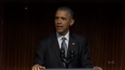 Obama Praises Civil Rights Legacy of Predecessor Lyndon Johnson