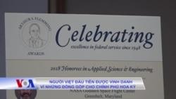Người Việt đầu tiên được vinh danh vì những đóng góp cho chính phủ Hoa Kỳ