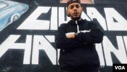 Eliexer Márquez, El Funky, rapero cubano residente en La Habana. [Foto: Cortesía del entrevistado]