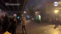 Protestas antigubernamentales en Irán por avión derribado