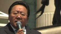 额勒贝格道尔吉连任蒙古总统