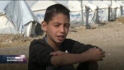 Život kurdskog dječaka u izbjeglištvu: Tužan je život u šatorima