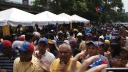 Oposición venezolana inicia cruzada para el revocatorio