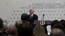 Trump Visits CIA, Tells Intel Agents 'I am so Behind You'