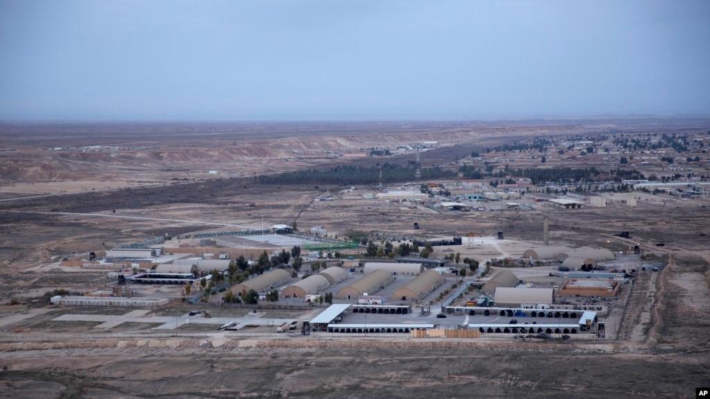 Авиабаза аль-Асад в Ираке. Фото 29 декабря 2019г.