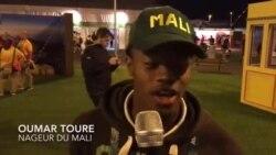Le nageur malien Oumar Toure