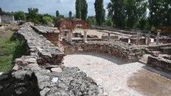 Еден дожд и мозаикот под вода – конзервација со странска помош за враќање на туристите на Хераклеа