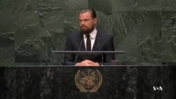 انتخاب لئوناردو دی کاپریو به عنوان پیام آور صلح سازمان ملل