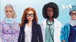 Розробниця вакцини проти COVID-19 надихнула на створення нового прототипу ляльки Barbie. Відео