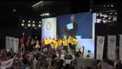 2013-09-08 美國之音視頻新聞: 東京獲得2020年夏季奧運會主辦權