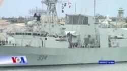 Tàu Hải quân Canada sắp thăm Vịnh Cam Ranh