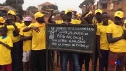 Fin de la campagne électorale en Guinée (vidéo)