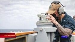 Tàu chiến Mỹ áp sát Hoàng Sa 'khẳng định quyền tự do hàng hải'