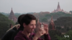 Myanmar Mulls Ban on Temple-Climbing Tourists