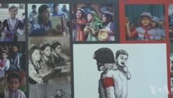 维吾尔人华盛顿影展 揭示中国政府暴行