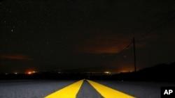 Hawaii adasının Waimea bölgesinde çıkan orman yangınları
