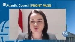 Тихановська закликала США не призначати зараз посла у її країні, оскільки це легітимізує режим Лукашенка. Відео