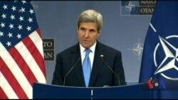 Джон Керрі та міністри закордонних справ країн-членів НАТО підбивають підсумки року у Брюсселі щодо України. Відео