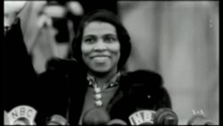 Students Honor African-American Singer Marian Anderson