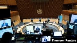 스위스 제네바에서 세계보건총회(WHA) 제74차 연례 총회가 열렸다.