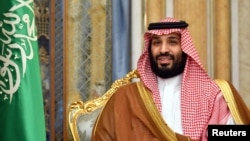 FILE PHOTO: Saudi Arabia's Crown Prince Mohammed bin Salman