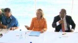 克林頓敦促東盟團結一致解決南中國海問題