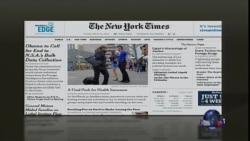 美国五大报头条新闻(2014年3月25日)