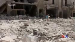 2016-08-10 美國之音視頻新聞: 敘利亞阿勒頗200萬人斷水斷電