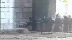 تظاهرات و درگیری بین مسلمانان فلسطینی و پلیس اسراییل در اورشلیم