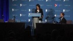 Nikki Haley nominada como embajadora ante la ONU