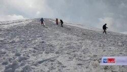 اسکی بازان بامیانی کمبود امکانات