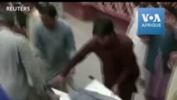 Attentat dans une mosquée afghane: les blessés affluent à l'hopital