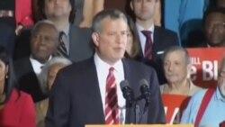 纽约新市长的跨种族家庭