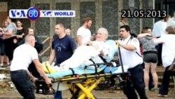 Bão lốc khổng lồ ở Mỹ, 20 trẻ em thiệt mạng (VOA60)
