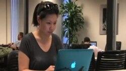 미 경찰서, 중국판 홈페이지 화제
