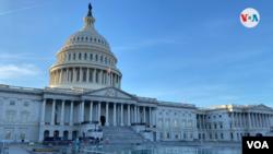 Vista general del Capitolio, sede del Congreso de EE. UU. en Washington DC. [Foto de archivo]