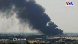 Yemen'de Gıda Yardımına Yangın Darbesi