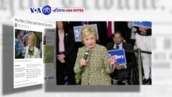 VOA60 Elections - Democratic frontrunner Hillary Clinton dominated the South Carolina primary