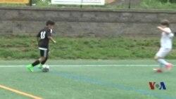 美国青少年越来越喜欢踢足球