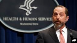 Menteri Urusan Kesehatan dan Layanan Kemanusiaan (HHS) AS, Alex Azar