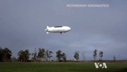 Airship Drones Could Stay Aloft for Days