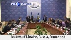 VOA60 Duniya: Ukraine da Rasha, Fabrairu 11, 2015