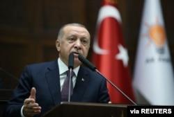 레제프 타이이프 에르도안 터키 대통령.