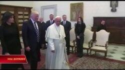 Trump gặp Đức Giáo hoàng ở Vatican