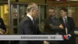 """彭斯对白宫辞职顾问表示""""失望"""""""