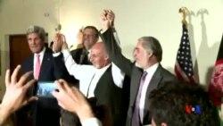 2014-07-13 美國之音視頻新聞: 阿富汗點票大選投票結果