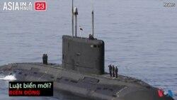 Trung Quốc có thể viết lại luật hàng hải (VOA60 châu Á)